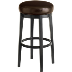 Stratmoor Swivel Counter Stool A Brown